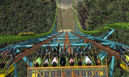 世界上最高的跳楼机,在10秒内可降约41层楼那么高,你敢去坐吗?