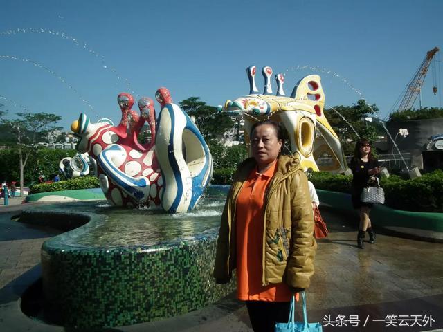 游香港海洋公园作文200字