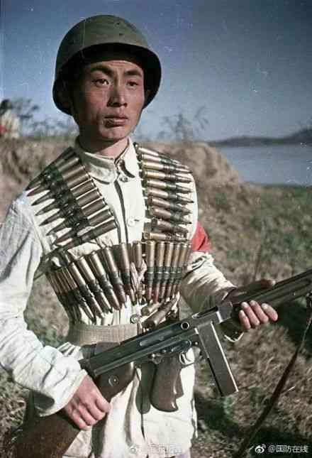 珍贵彩色老照片:真实再现1949年解放军的精气神