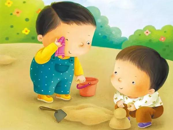 小孩气园幼儿园大班小孩的6大习惯性力塑造