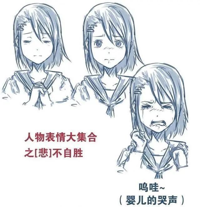 「CG原画插画教程」动漫人物表情怎么画?