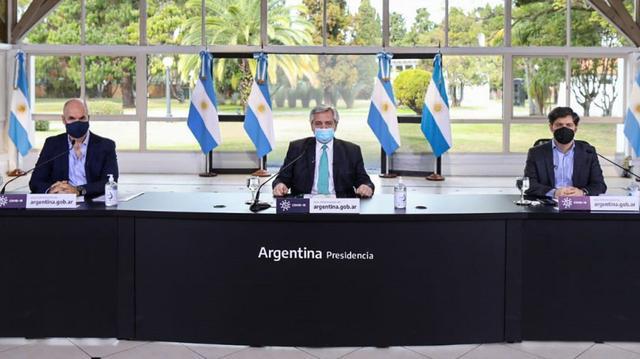 """阿根廷总统宣布隔离继续""""已无退路!望全民承担最大社会责任"""""""