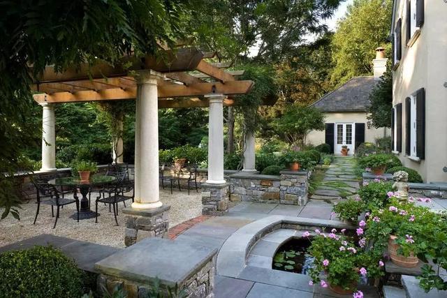 花园里用好这几步风水布局,会让你的花园增色百倍