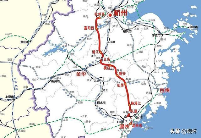 杭深铁路之厦深高铁提速,温福、甬台温何时也提速