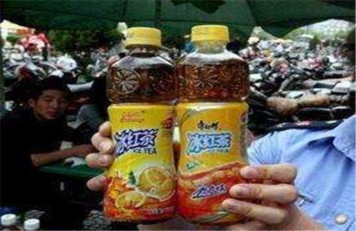 大家有没有见过这个包装的娃哈哈冰红茶