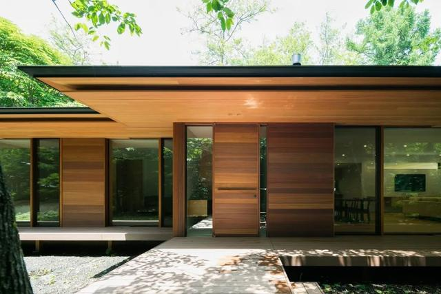 日本乡野别墅长什么样?大尺度空间的极致体验太酷了