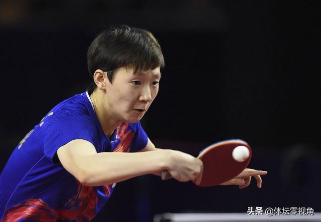 如何评价新生代乒乓球运动员王曼昱?