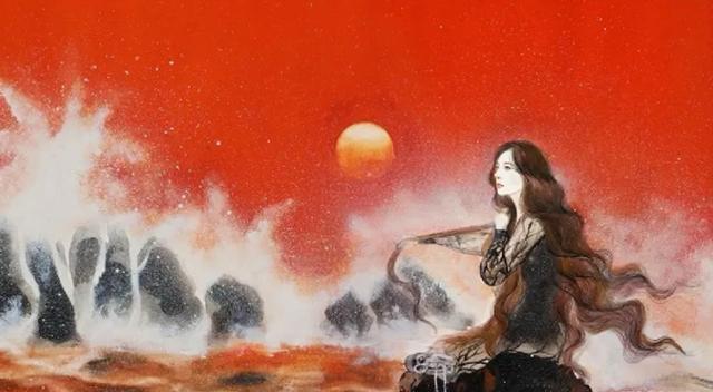 杨幂国风漫画登上杂志封面,画面唯美意义非凡,直接对话自然