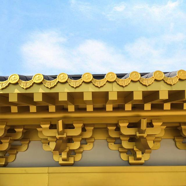铝合金斗拱原来有这么多的用处