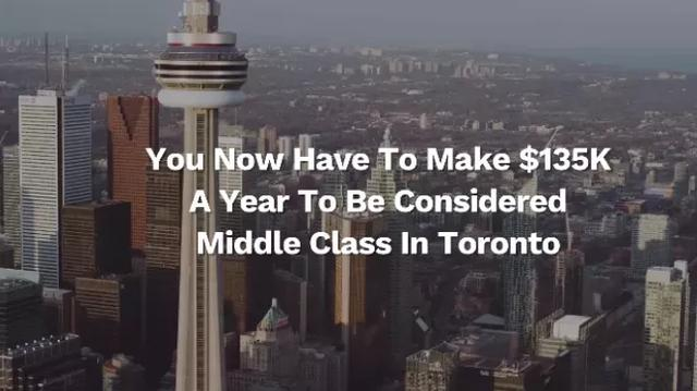 真扎心!想在加拿大过得体面收入得多少?看完感觉拖后腿了