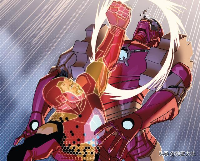 鋼鐵俠打造全新戰甲,不用金屬材料,固化虛擬現實