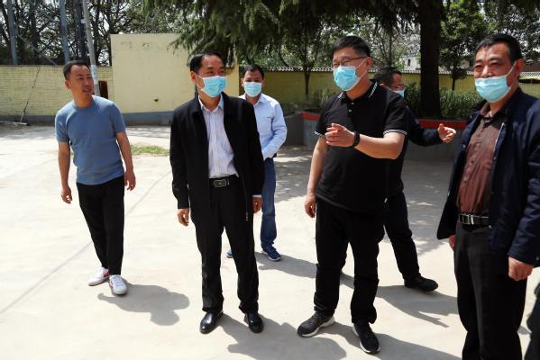 郑州职业技术学院精准帮扶巩义市董柏坡村