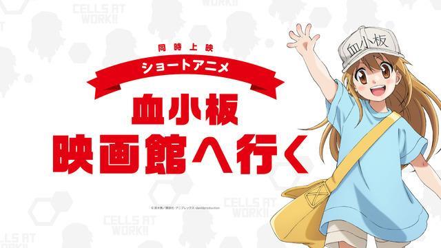 《工作细胞》9月5日剧场版在日本上映