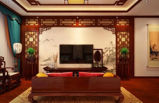 美不胜收的中式客厅装饰设计