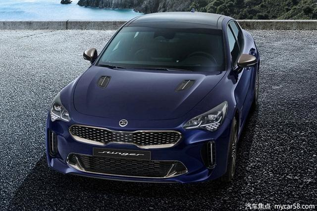 起亞新款Stinger官圖發布,搭2.5T/3.3T引擎,年內開售