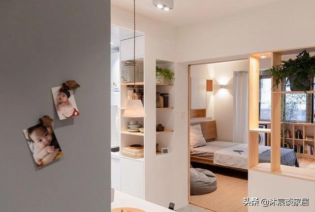 一家三口住45㎡二手房,重新改造后,成小区最美,室内温馨又精致