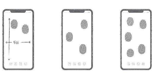 整块屏幕都能指纹识别,华为申请全屏指纹解锁专利