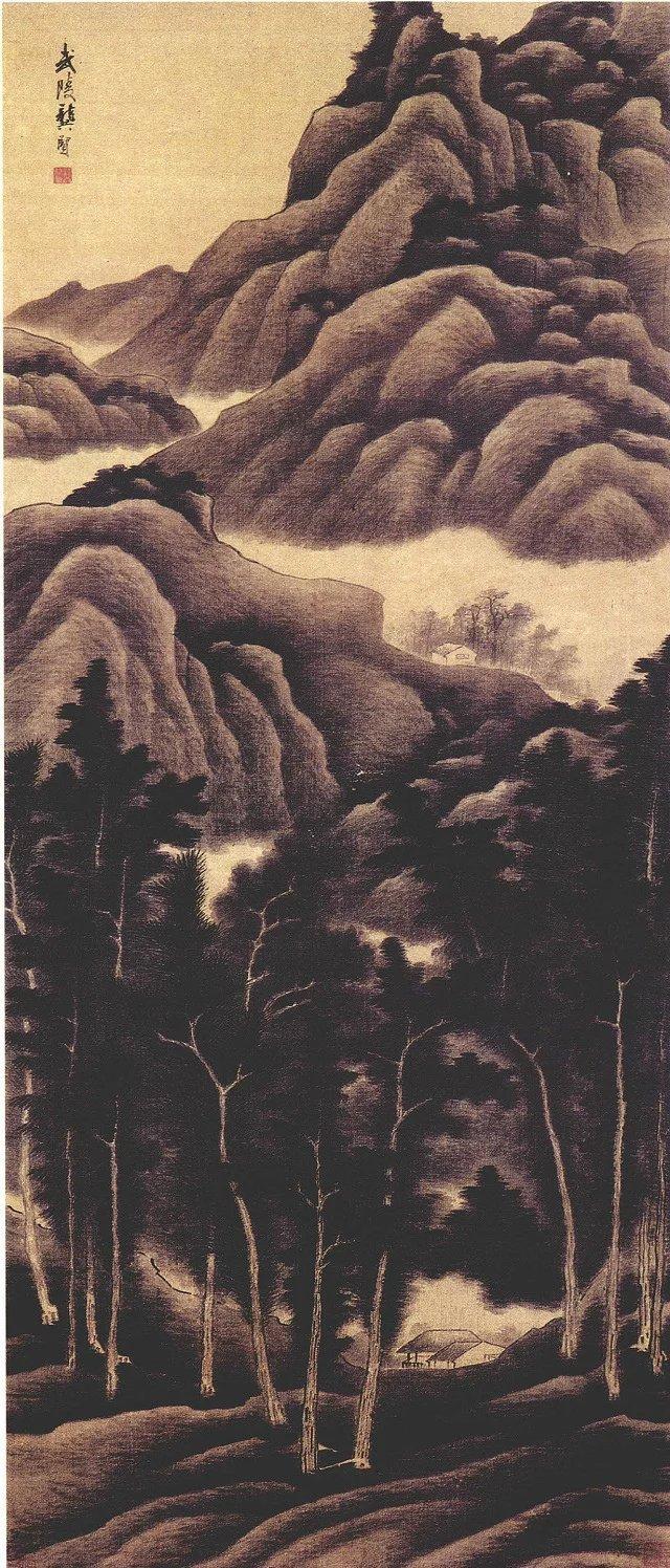 清金陵八家 精品绘画欣赏