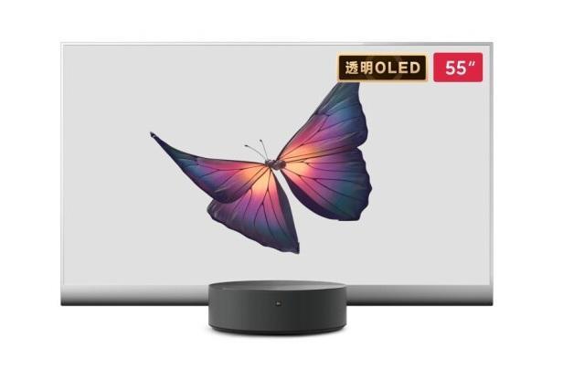 小米大师OLED透明电视49999元