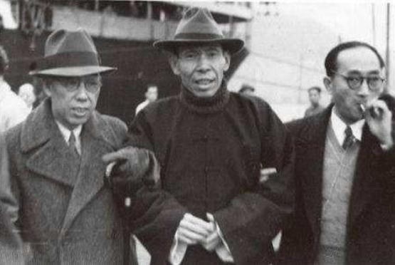 上海滩大佬 杜月笙,高清照片 灰色的人生