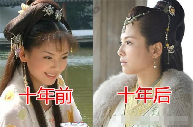 十年前VS十年后,许仙成熟,白素贞优雅,看到法海:认不出来