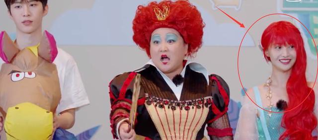 郑爽做客《青春环游记》,瓷肌配红发太美艳,堪称童话公主出逃