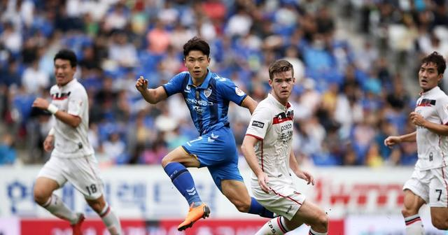 韩K联8-15 18:00蔚山现代vs浦项制铁,蔚山现代更胜一筹