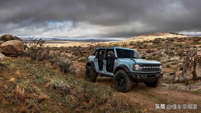 新车 | 福特硬派越野车Bronco发布 强悍外观/复古+科技内饰