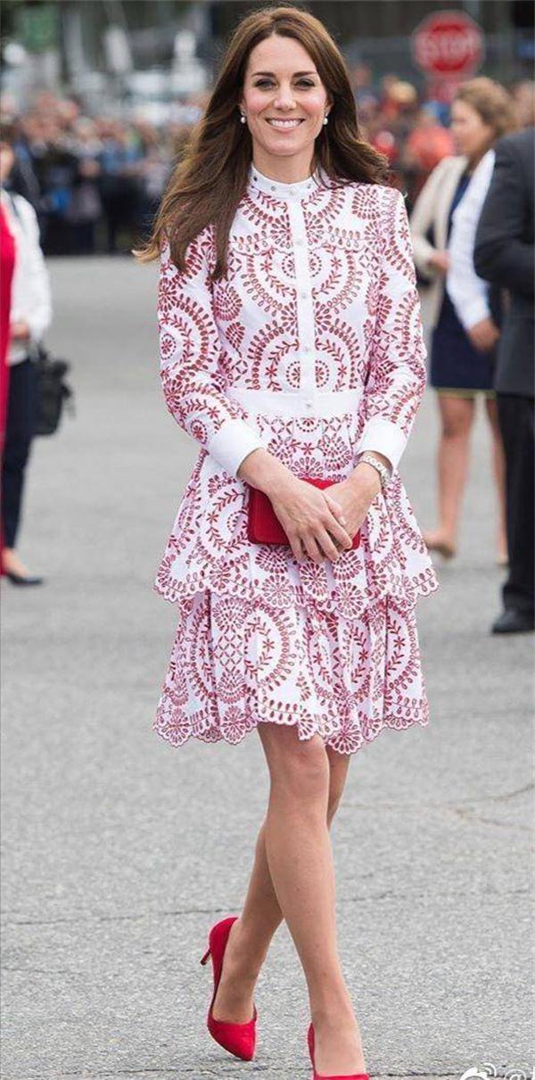 凯特王妃开创自我派王室穿搭风格,不走奢华路线,照样做名媛