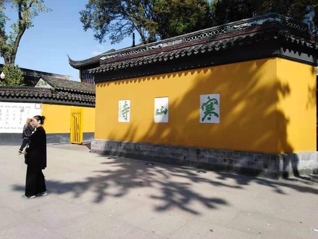 姑苏城外寒山寺句中的名胜古迹是