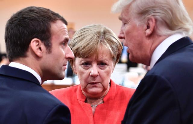 不好意思,美国没有资格!默克尔、马克龙公开叫板,白宫愿望落空