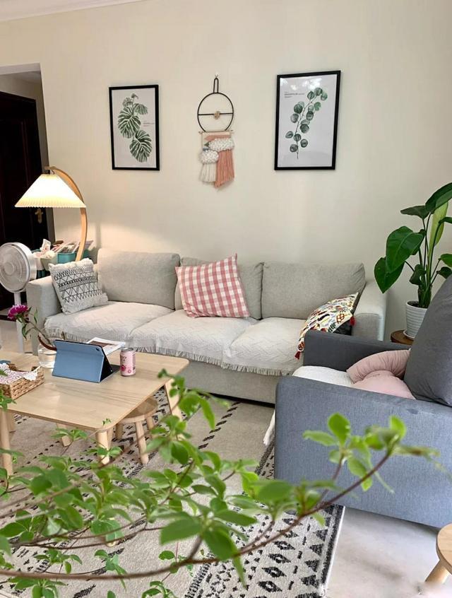 精装房拆掉重新装修,学她家家具和软装搭配,效果特别温馨