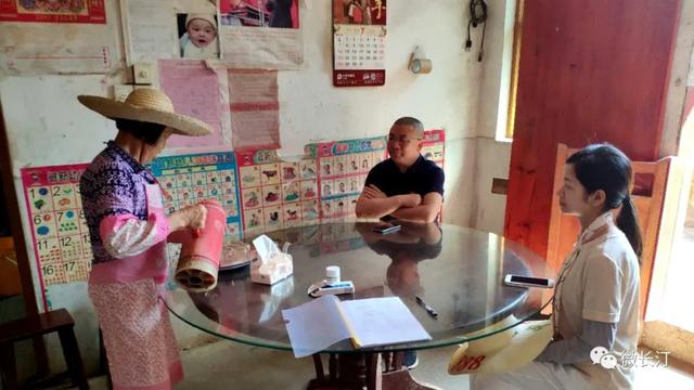 长汀县羊牯乡:代表群众心连心 携手向前促脱贫