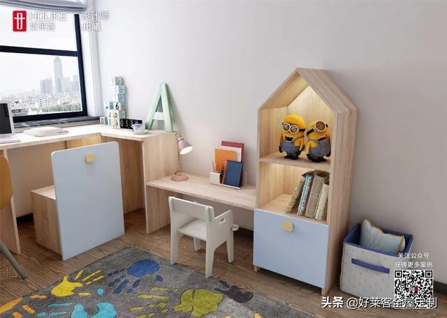 小区TOP10儿童房设计,实用+颜值100分