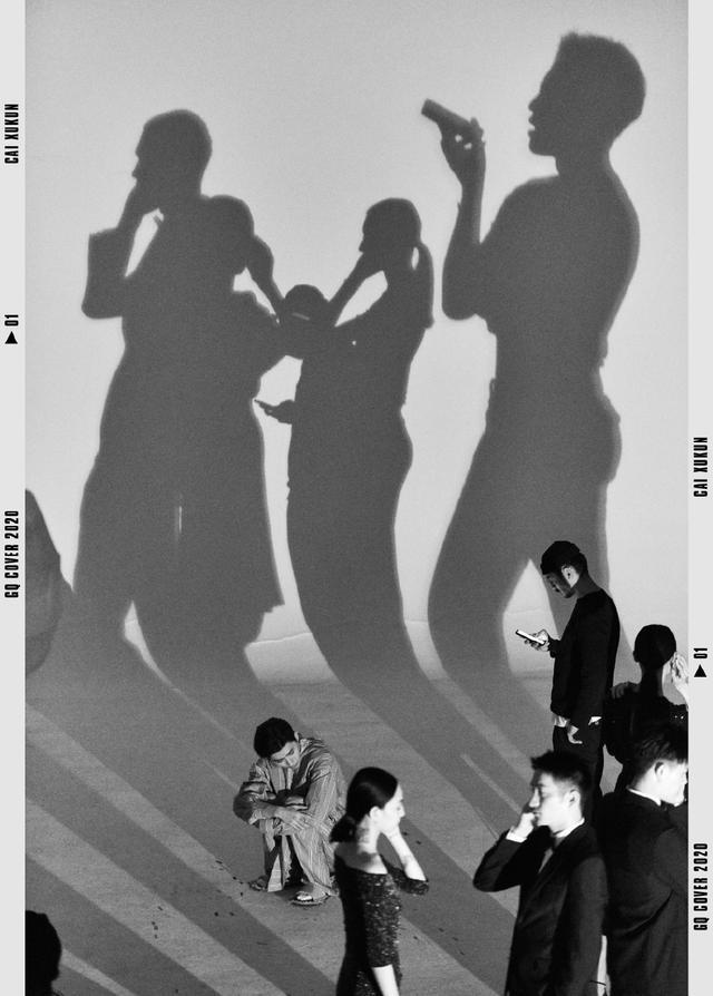 191231 蔡徐坤《GQ》幕后亮点:抱猫拍摄惨遭嫌弃 镂空裸背性感狂野