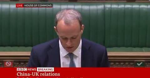 英国宣布暂停与香港引渡条约