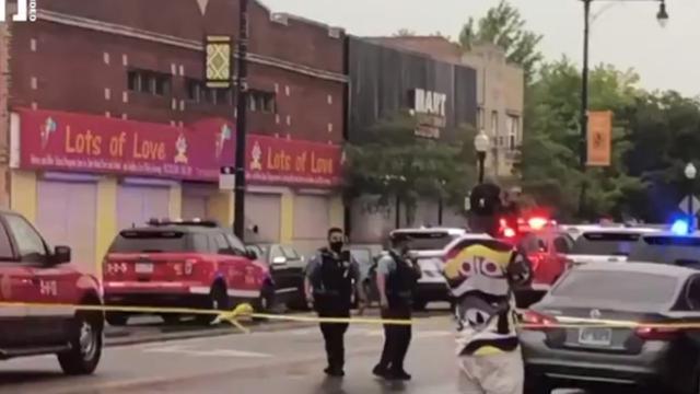 芝加哥南区发生大规模枪击事件 现场正在举行葬礼