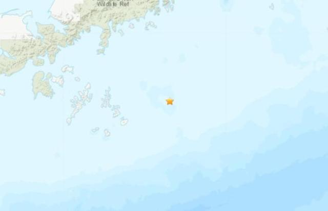 美阿拉斯加南部海域发生7.8级强震 已有多次余震