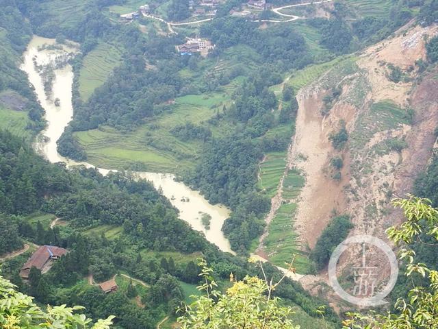 重庆武隆土地乡滑坡形成堰塞湖 联合工作组已成立并开展应急处置工作