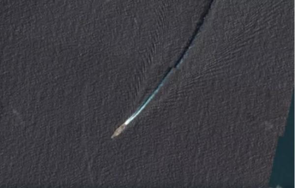 """敏感时刻,美国""""里根""""号航母在东海被卫星""""活捉"""""""
