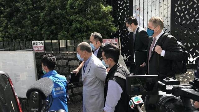 黎智英等7人涉嫌违反香港国安法被香港警方拘捕