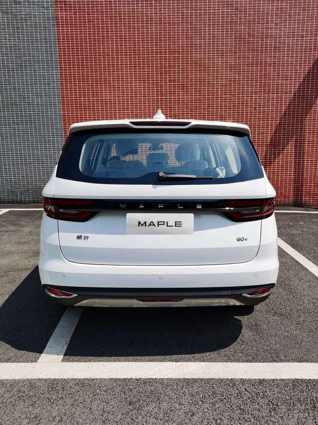 楓葉汽車新MPV定名楓葉80V 將搭載換電技術