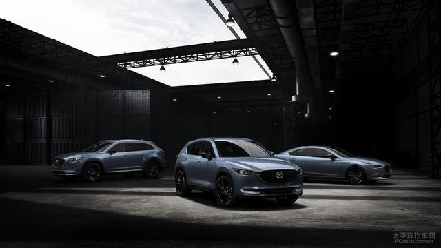 马自达发布三款碳纤维特别版 不再魂动红