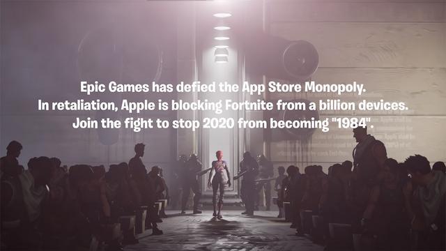 """""""史诗""""级对决:Epic就Apple下架《堡垒之夜》提出起诉"""