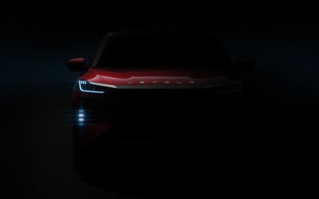 """国产车也来玩""""灯厂"""" 捷途X量产版预告图曝光或将下半年发布"""