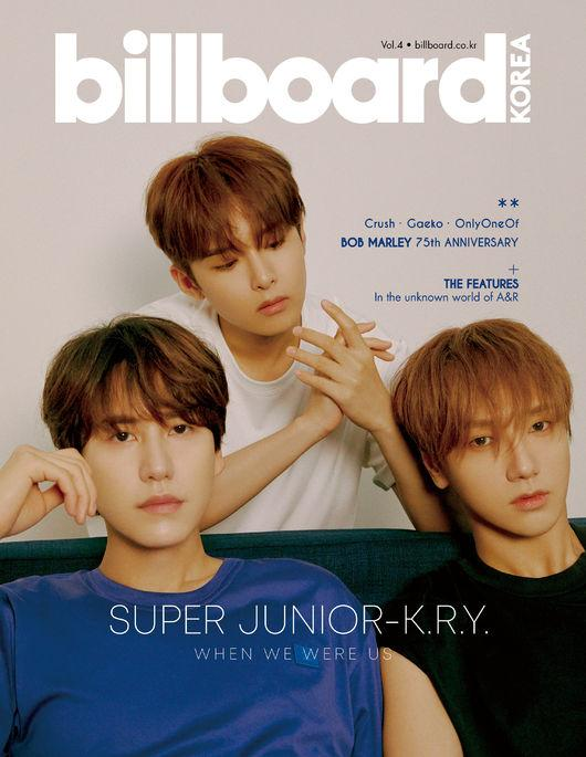 Super Junior-KRY受邀拍攝Billboard海報:感謝歌迷們的支持