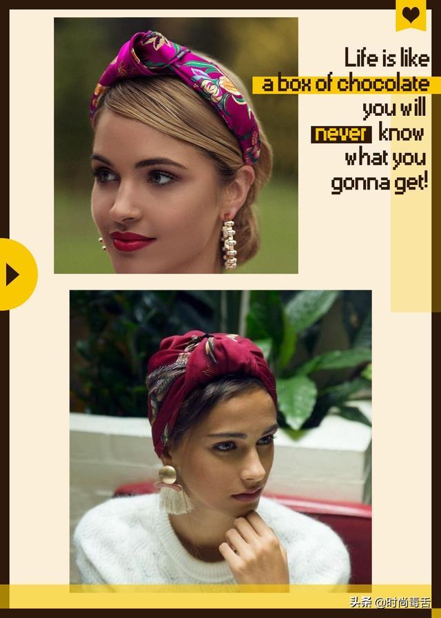 发带怎会让人失望?从时尚穿搭到发型设计,捕获少女们的芳心