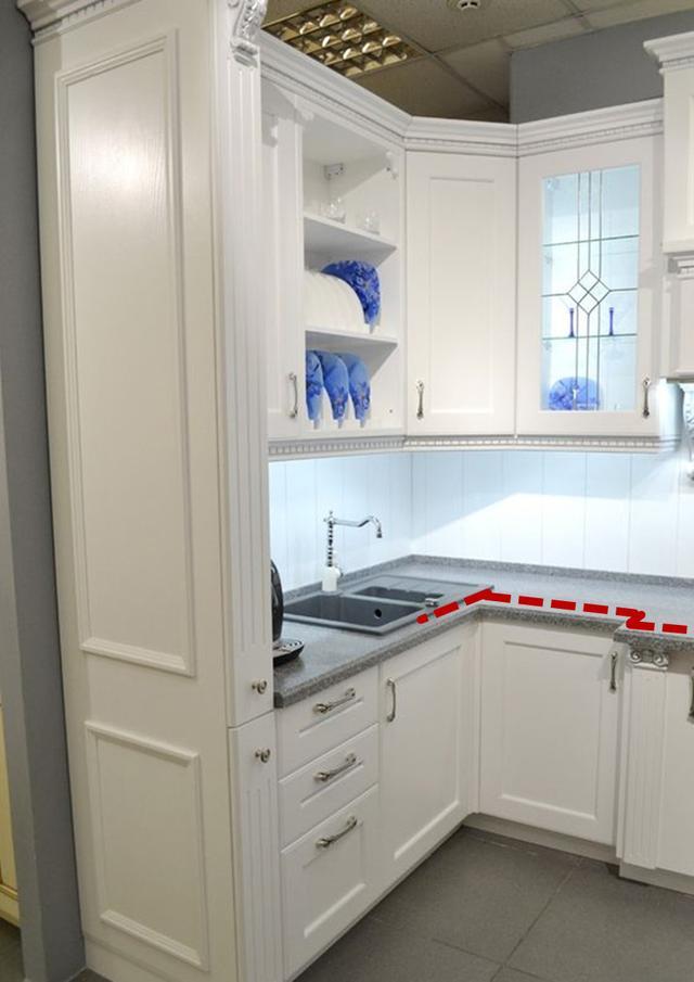 厨房洗菜盆装拐角够聪明,转角切成钝角,一盆多用,从此省心省力