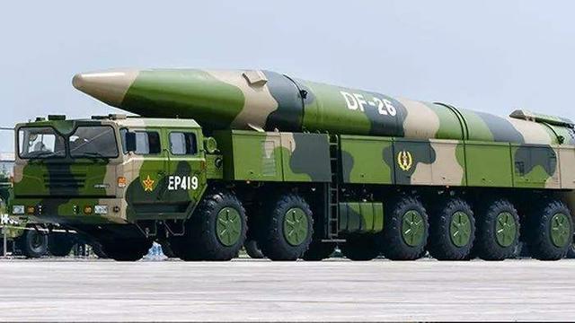 针对美国双航母再三挑衅,解放军发射东风—26!直达目标