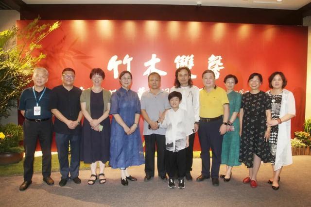 茶香西湖·雙馨雅集 | 戚學慧竹畫、黃小明木藝聯展雅集